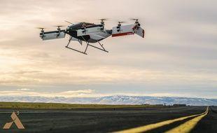 Lors du premier vol du taxi volant autonome d'Airbus, Vahana.