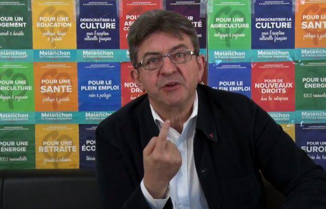 Présidentielle: Jean-Luc Mélenchon met en garde ses électeurs contre la «terrible erreur» d'un vote FN