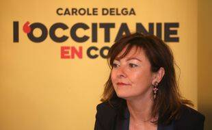 Carole Delga, la présidente PS sortante de la région Occitanie, est donnée gagnante au second tour dans les sondages.