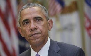Le président américain Barack Obama, le 10 septembre 2015 à la Maison blanche