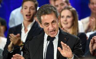 Le meeting de Nicolas Sarkozy à Marcq-en-Baroeul dans le Nord.