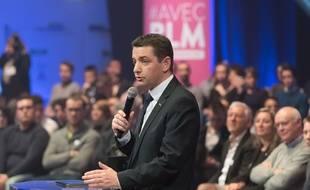 Le maire de Saint-Etienne Gaël Perdriau, ici en mars 2016 à Saint-Denis.