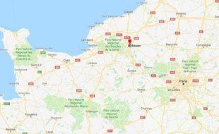 A Rouen, une mère de famille a lancé un appel pour retrouver la poussette de son fils handicapé.