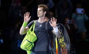 Andy Murray au Masters de Londres l'an passé.