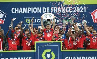 Les Lillois ont décroché le titre de champion de France
