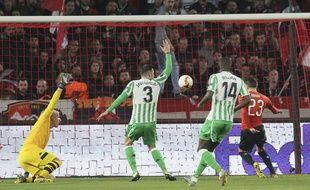 C'est Rennes qui a ouvert le score contre le Betis