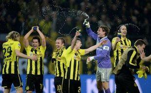 Dortmund a renversé la situation dans les arrêts de jeu contre Malaga (3-2) en quart retour et s'est qualifié pour les demi-finales de la Ligue des champions en compagnie du Real Madrid, battu par Galatasaray 3-2 dans un petit vent de folie, moins grave avec l'avance madrilène à l'aller (3-0).