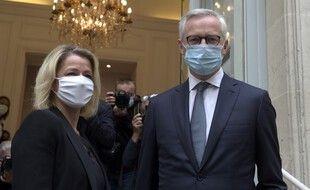 Barbara Pompili et Bruno Le Maire, tous deux nominés pour les