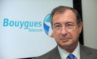 Martin Bouygues, PDG du groupe français éponyme, le 1er octobre 2013 à Meudon, près de Paris