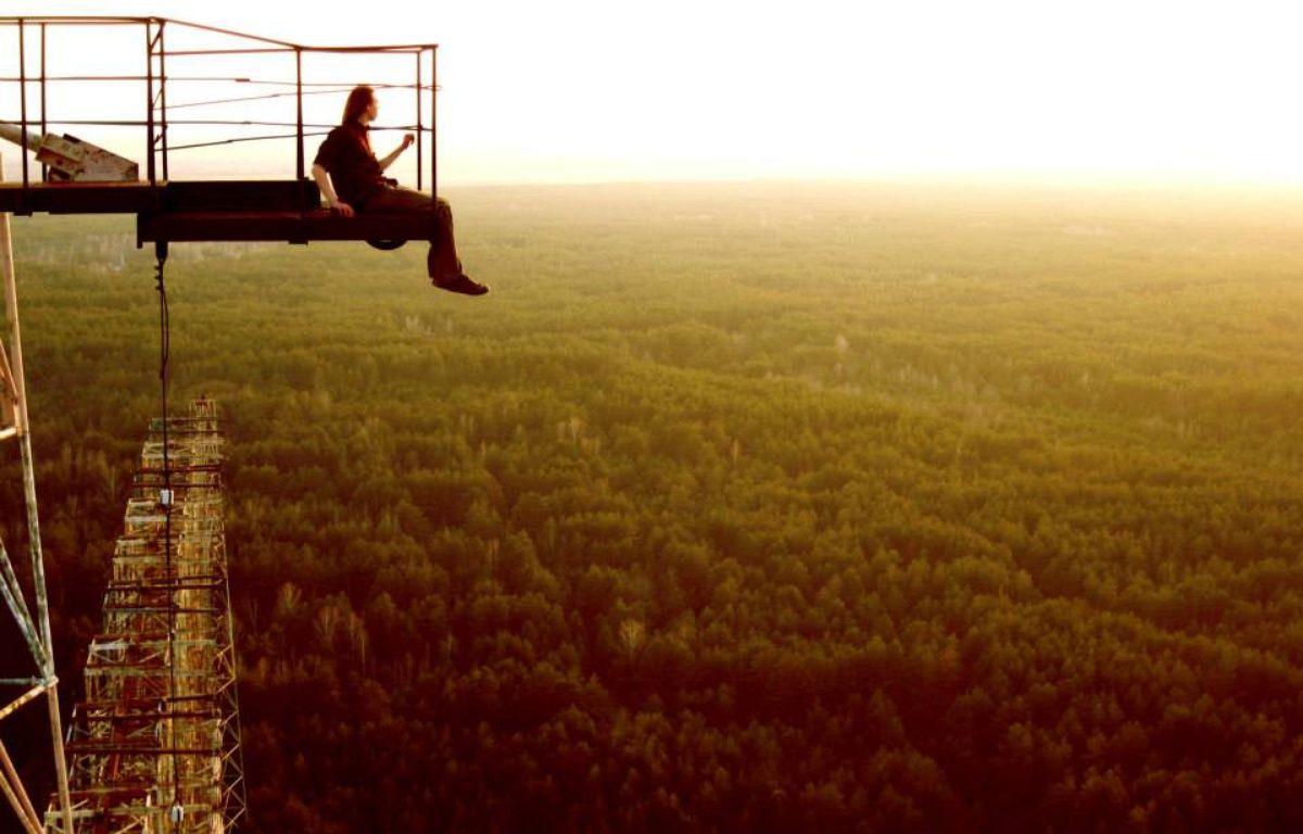 Markiyan Kamysh n'a jamais eu le vertige en haut du «Pic Vert». – Markiyan Kamysh