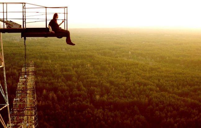 Markiyan Kamysh n'a jamais eu le vertige en haut du «Pic Vert».
