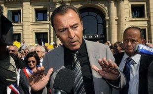 """Toujours pendant ce meeting, Lionnel Luca est revenu sur l'affaire DSK : """"On a loupé le lupanar rose""""."""