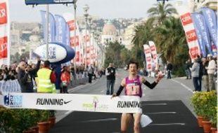 Une marathonienne victorieuse.