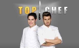 """Xavier et Kevin, les deux finalistes de la saison 6 de """"Top Chef"""""""