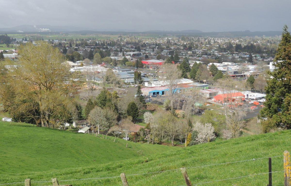 Panorama de la ville de Tokoroa, en Nouvelle-Zélande. – FLICKR / JENNIFER WHITING