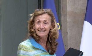 La Ministre de la Justice, Nicole Belloubet. Paris, le 9 avril 2017.