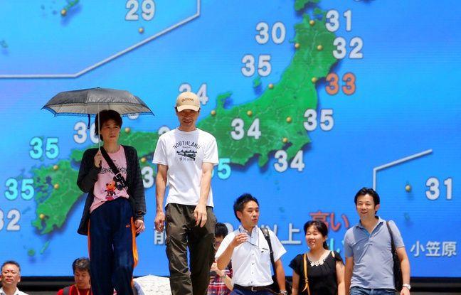 Japon: Les températures record font craindre la surchauffe pour les JO de Tokyo 2020