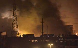Une série d'explosions s'est produite le 12 août à Tianjin, en Chine.