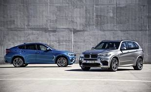 BMW X5 M et BMW X6 M