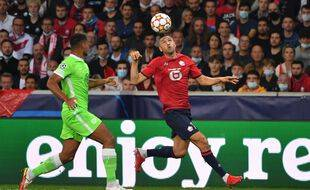 Burak Yilmaz a tout tenté, mais Lille a buté sur Wolfsburg.