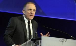 Le président de Kering François-Henri Pinault, le 21 février 2014 à Paris