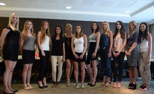 Les candidates présélectionnées pour le titre de Miss Montpellier 2015
