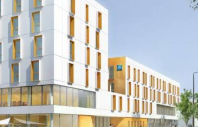 Le projet d'hôtels près de l'aéroport de Montpellier.