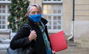 Elisabeth Borne, le 23 novembre 2020 à Paris.