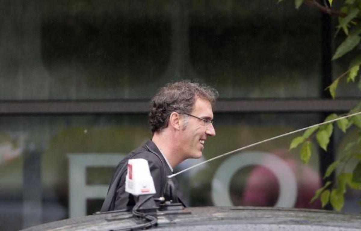 Après l'élimination de la France en quart de finale de l'Euro-20102 (2-0 contre l'Espagne), se pose désormais la question de l'avenir du sélectionneur Laurent Blanc et des contours de l'équipe chargée de débuter en septembre les qualifications pour le Mondial-2014. – Kenzo Tribouillard afp.com