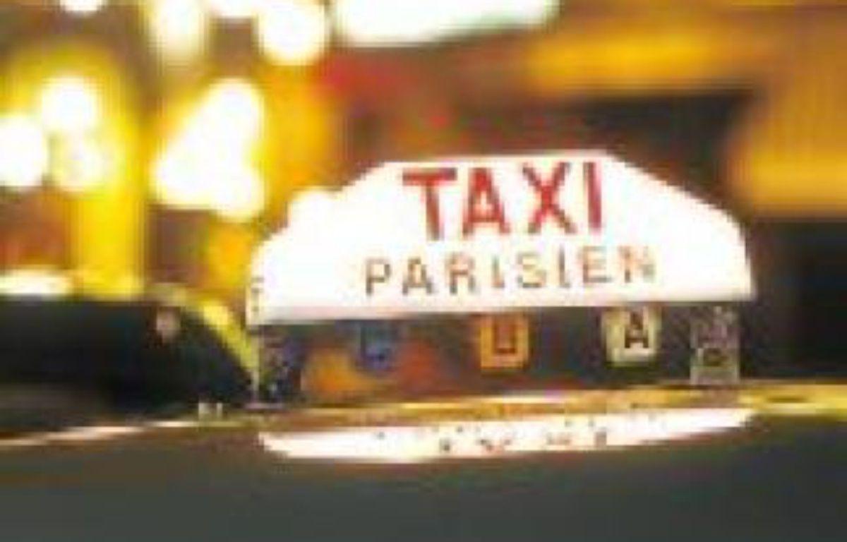 Il y a plus de 17000taxis à Paris. –  SUPERSTOCK / SUPERSTOCK / SIPA