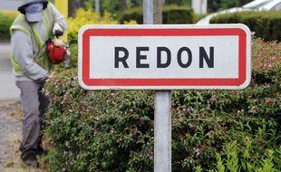 L'entrée de la ville de Redon (illustration)