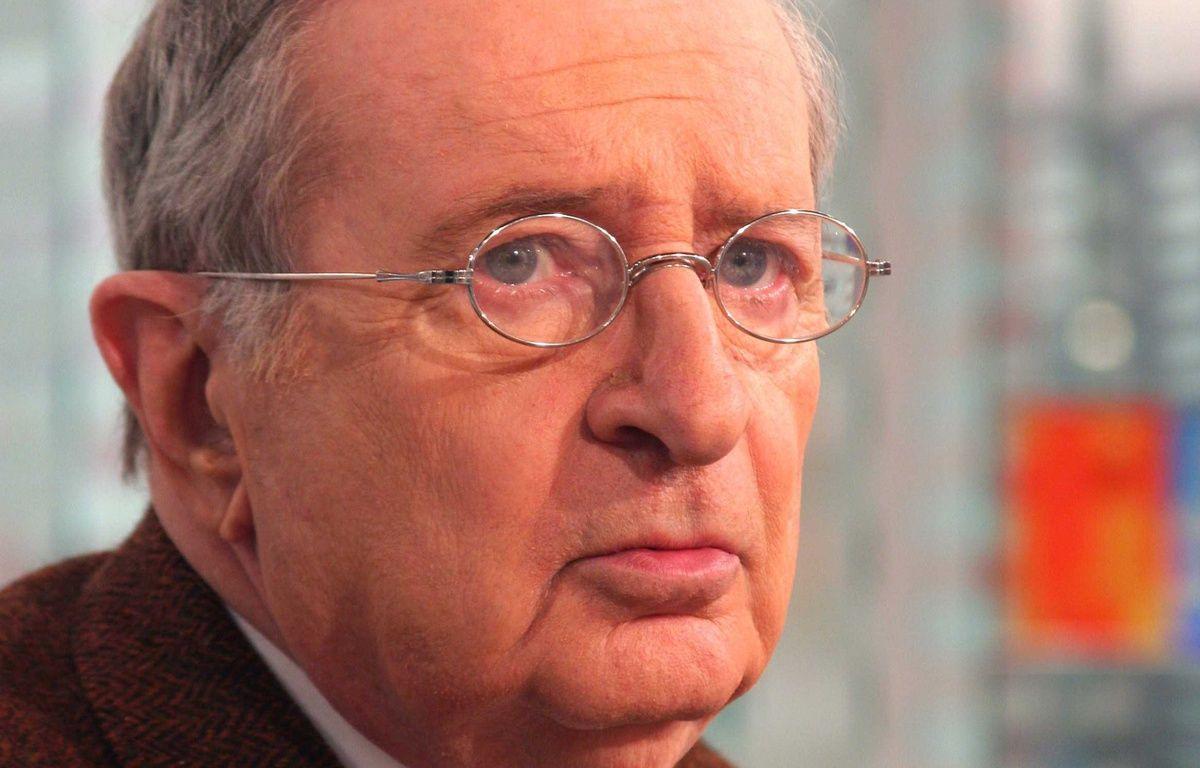Claude Imbert, le directeur du magazine Le Point à Paris, le 29 juin 2006. – IBO/SIPA