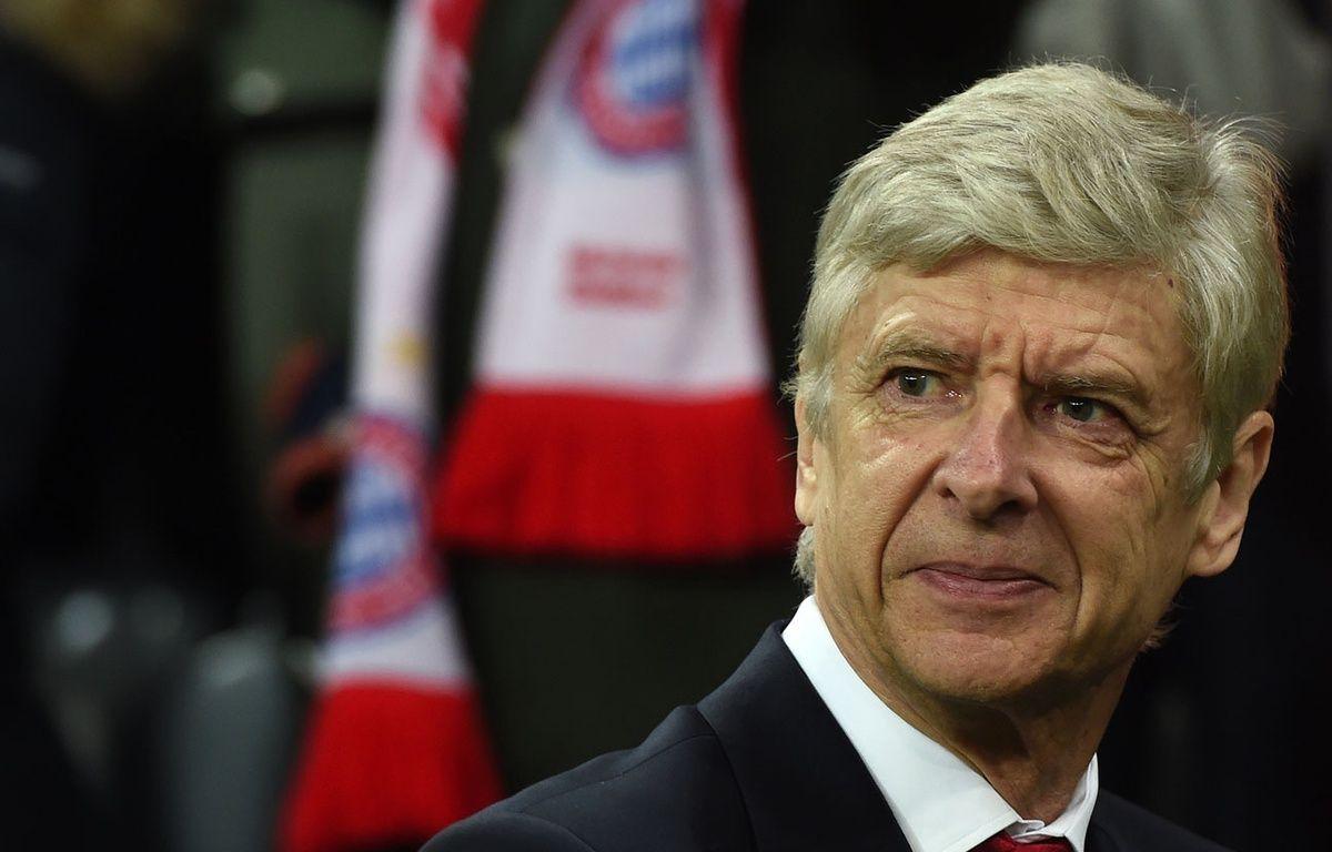 Arsène Wenger avant le match entre le Bayern et Arsenal le 15 février 2017. – Christof STACHE / AFP