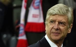 Arsène Wenger avant le match entre le Bayern et Arsenal le 15 février 2017.