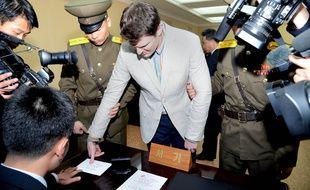 Otto Warmbier, 'étudiant américain rapatrié aux Etats-Unis dans le coma après sa détention en Corée du Nord