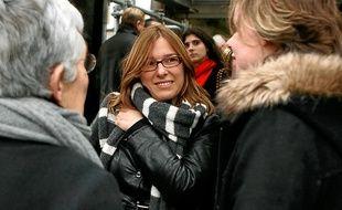 Sophie Robert, le jour de l'audience au tribunal de Lille (archives).