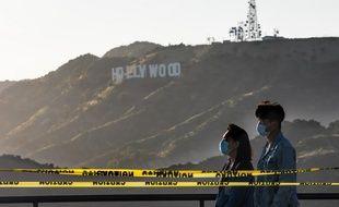Hollywood pendant le confinement.