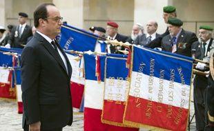 François Hollande lors de l'hommage aux Harkis le 25/09/16.