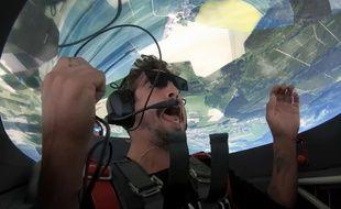 Vivez des acrobaties aériennes en caméra embarquée - Le Rewind (video)
