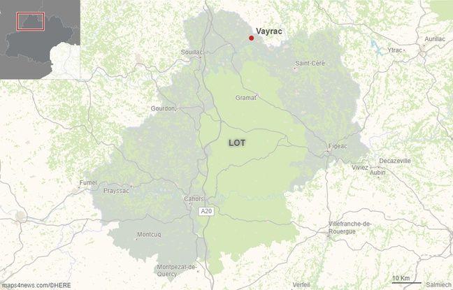 La commune de Vayrac dans le Lot.