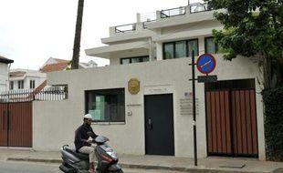 Le consulat de France à Bangalore, en Inde, le 16 juin 2012.
