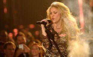 La chanteuse colombienne Shakira à Las Vegas, le 18 mai 2014.