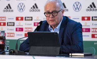 Le président de la fédération allemande de football Fritz Keller, le 11 mars 2021.