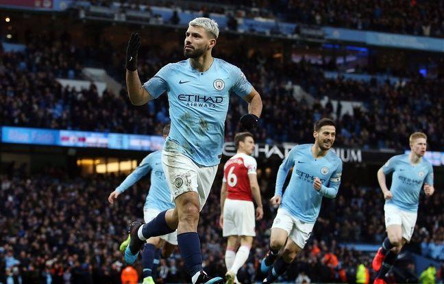 Premier League: Aguero marche sur Arsenal et City gagne le choc de la 25e journée