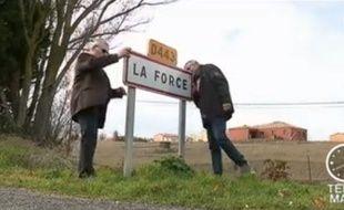 La commune de La Force, dans un reportage de Télé Matin sur France 2.