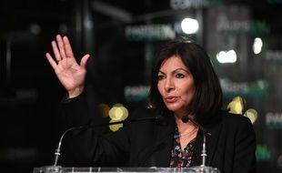 Anne Hidalgo, ici le 13 janvier, fait la course en tête dans les sondages mais est suivie de près par Rachida Dati.