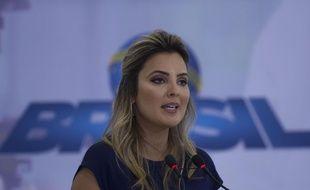 La Première dame du Brésil, Marcela Temer.