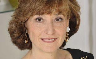 Noëlle Lenoir, ancienne ministre des Affaires européennes, à son domicile parisien en 2009.