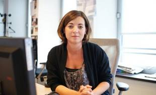 Laurianne Deniaud présidente du Mouvement des jeunes socialistes répond aux questions des internautes le 20 ocotbre 2010 lors d'un chat à la rédaction
