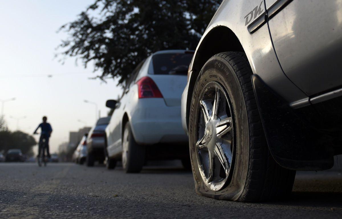 Le propriétaire du véhicule s'était garé sur le parking d'un grand magasin – WAKIL KOHSAR / AFP